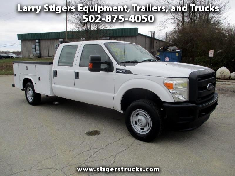 Photo Used 2013 Ford F250 4x4 Crew Cab XLT for sale