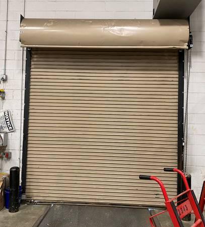 Photo Used 939-6quot wide x 1039 tall rolling steel door - $300 (Tipp City)