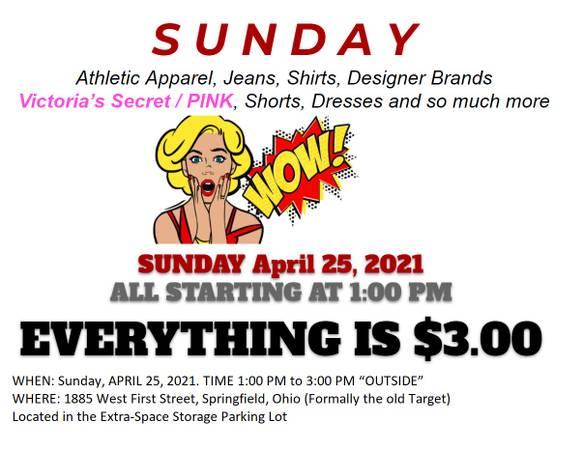 Photo Victorias Secret  PINK Sunday Sale - $3 (Springfield)