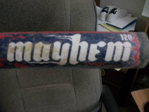 Photo worth Mayhem Synergy and other ball equipment - $100 (Miamisburg)
