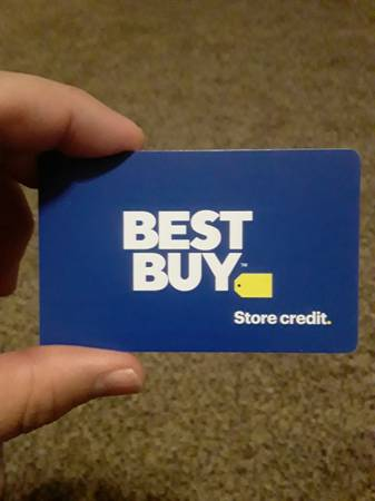 Photo 1400$ Best Buy Gift Card (Save $100) - $1,300 (Galesburg)