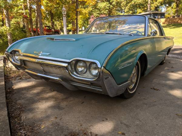 Photo 1961 Ford Thunderbird - $5,500 (Groveland)