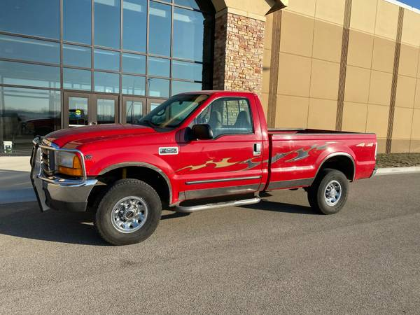 Photo 1999 Ford F-250 Super Duty 4x4 V10 - $3599 (Decatur)
