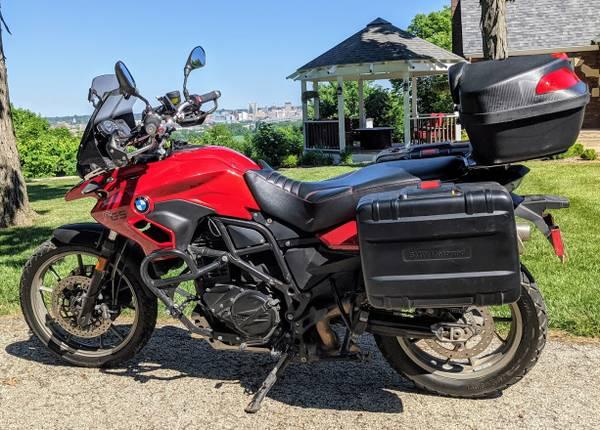 Photo 2013 BMW F700GS Motorcycle Enduro Adventure Bike Red Black Lowered - $6,500 (E. Peoria near Pinecrest)