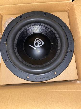 Photo 22 drop star luxury  4 10 Rockville Subwoofers (Decatur)