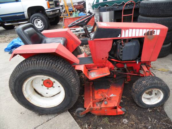 Photo 446 Case Mower Tractor - $1200 (Decatur)