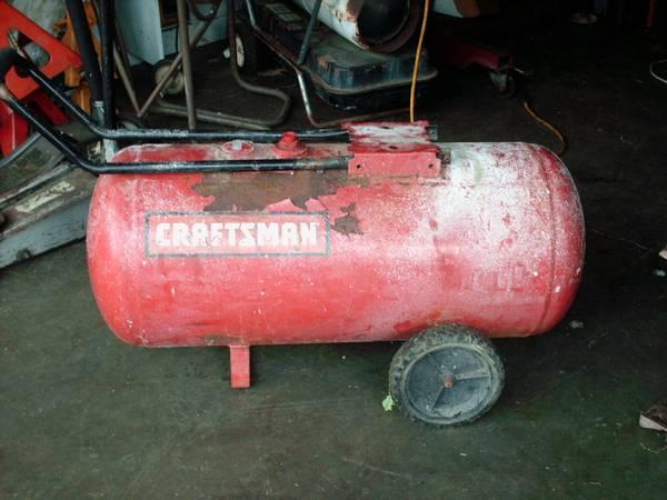 Photo Air Compressor air tank only - $40 (Chaign)