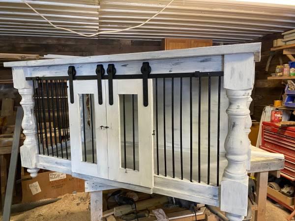 Photo Custom made dog kennels, hand built (Saunemin, il)