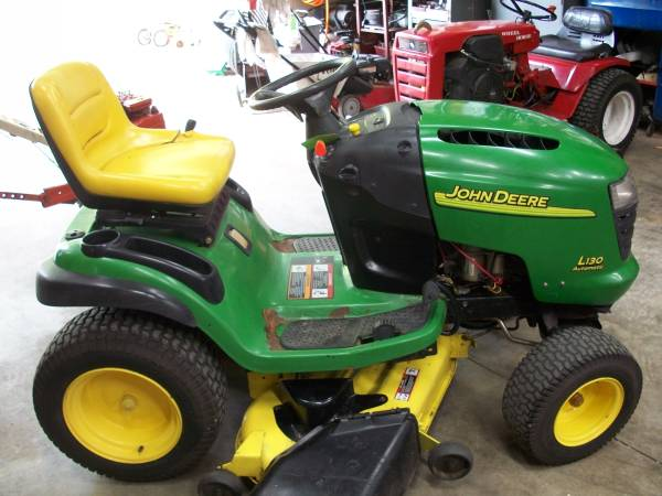 Photo John Deere L130 Mower - $575 (Mt. Zion)