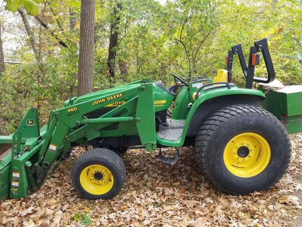 Photo John deere 4500 tractor with attachments - $19,500 (Decatur)
