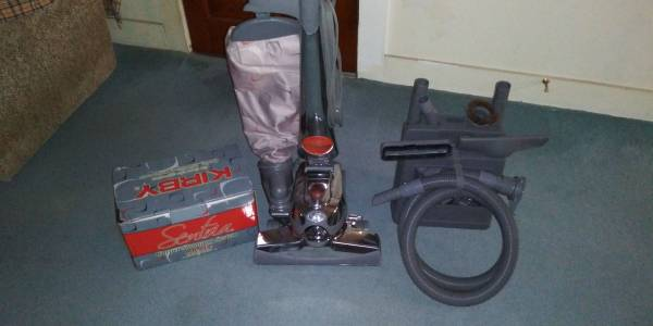 Photo Kirby Sentria 1 Vacuum Cleaner With Attachments  Shoo System - $175 (Decatur, IL.)