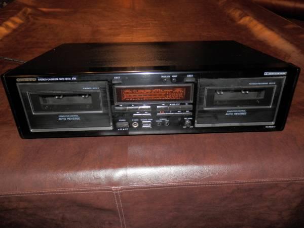 Photo Onkyo Dual Cassette Deck TA-RW311 - $25 (Normal)