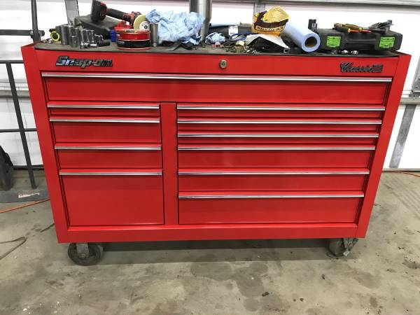 Photo Snap-on tool chest - $1,700 (Canton, IL)