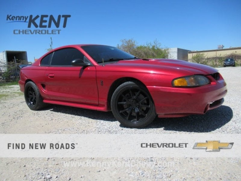 Photo Used 1996 Ford Mustang Cobra Coupe for sale
