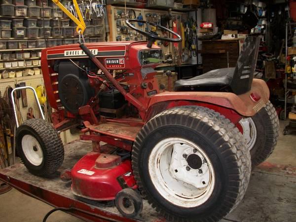 Photo Wheel Horse Garden Tractor62549 - $600 (Mt. Zion illinois)