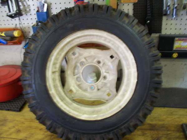 Photo Wheel Horse tires - $150 (Mt. Zion)