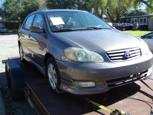 Photo 2003 Toyota Corolla ,all or parts - $900 (SE San Antonio)