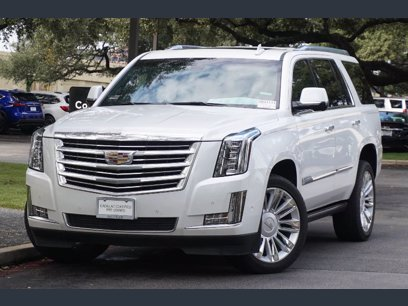 Photo Certified 2017 Cadillac Escalade 4WD Platinum for sale