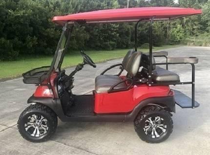 Photo Club Car Precedent Golf Cart Red colour. Clean inside and outside. - $800 (del rio)