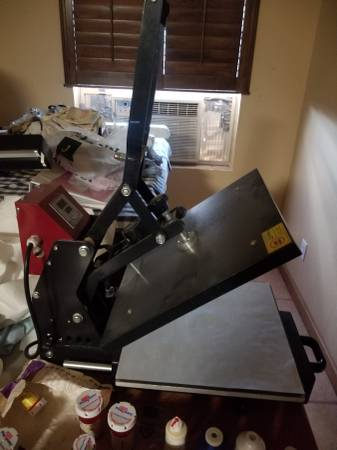 Photo LIKE NEW HEAT PRESS - $300 (DEL RIO)