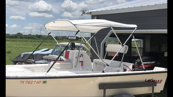 Photo Salty dog center console boat - $8,500 (Seguin)