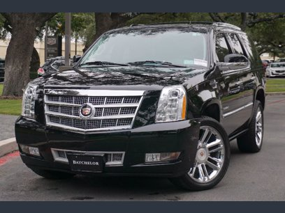 Photo Used 2013 Cadillac Escalade AWD Platinum for sale
