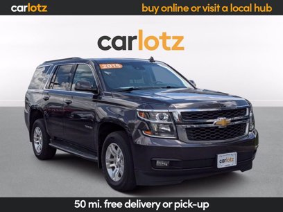 Photo Used 2015 Chevrolet Tahoe 2WD LT w Luxury Package for sale