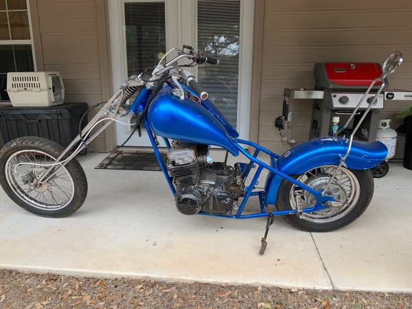 Photo Vintage Chopper CB750 Project Motorcycle - $1,200 (Fischer)