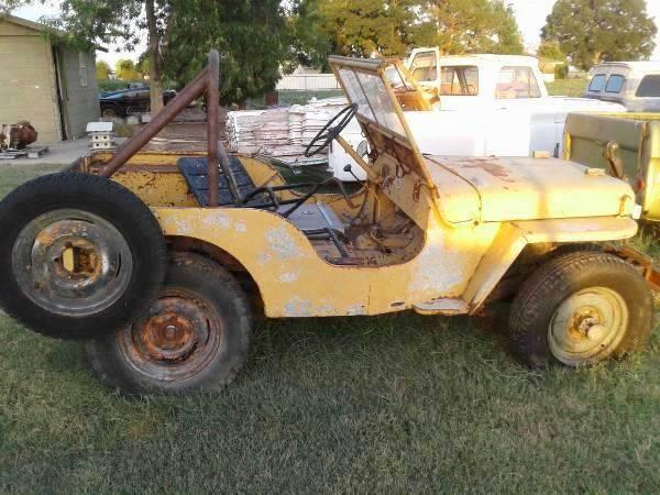 Photo Willys Jeep - $4,200 (Del Rio)
