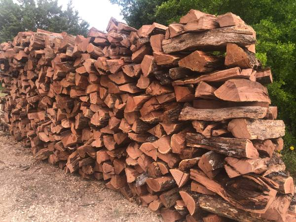 Photo Fire Wood Red Mesquite or Oak FIREWOOD - $160 (LYTLE)