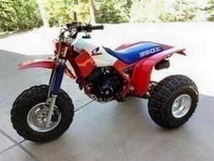 Photo like new1985 HONDA ATC 350X - 3 WHEEL ATV - RED - $1,000 (del rio)