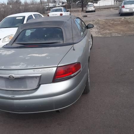 Photo 06 Chrysler Sebring Convertible - $950 (Commerce City)
