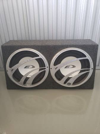 Photo 10quot alpine type e subs - $150