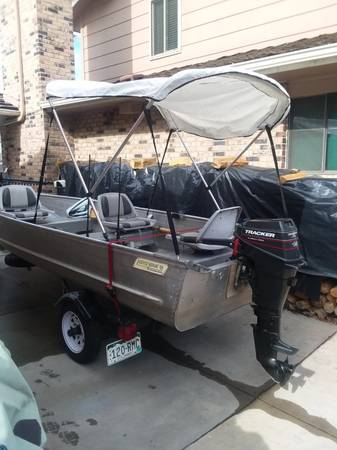 Photo 14 ft fishing boat - $2600 (littleton)