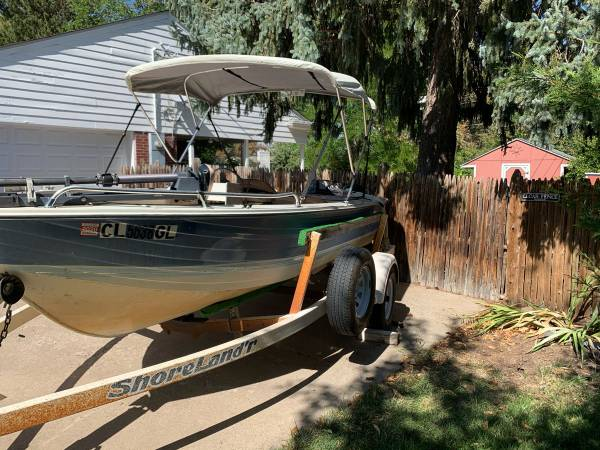 Photo 16 Foot Aluminum Boat Side Console - $3,300 (Golden)