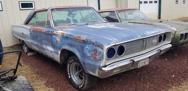 Photo 1967 Dodge coronet RT 440 - $6800 (Raton)