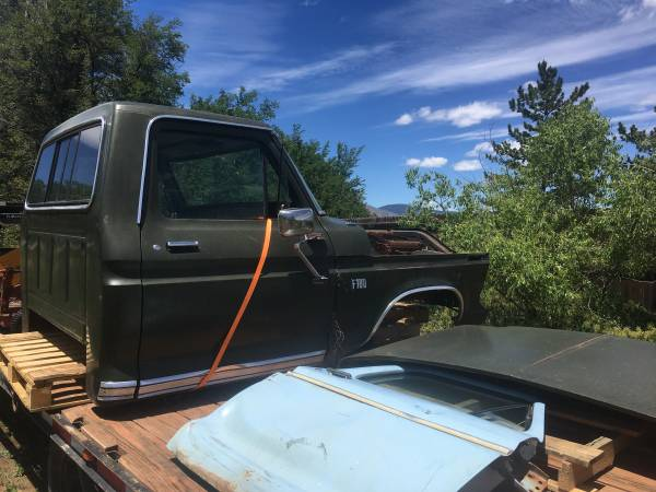 Photo 1973-79 Ford Cab and front clip - $500 (Boulder)