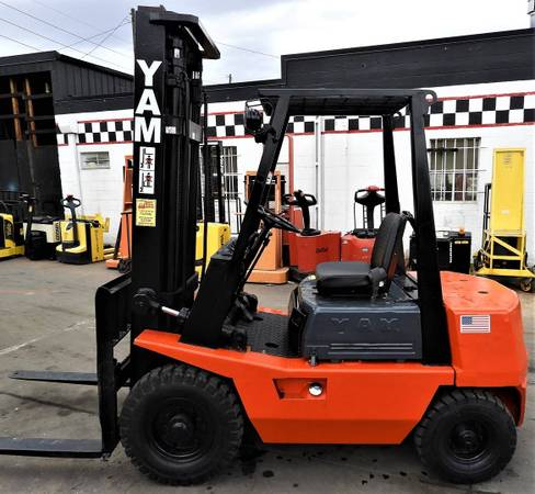 Photo 1984 Yale Forklift Two Stage (Denver)