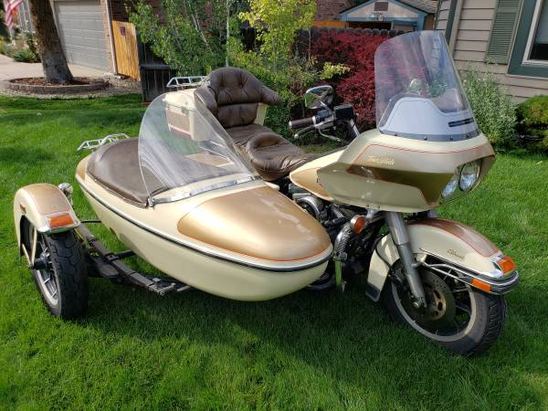 Photo 1988 Harley FLTC Tour Classic with Sidecar Very Rare - $11750 (Centennial)