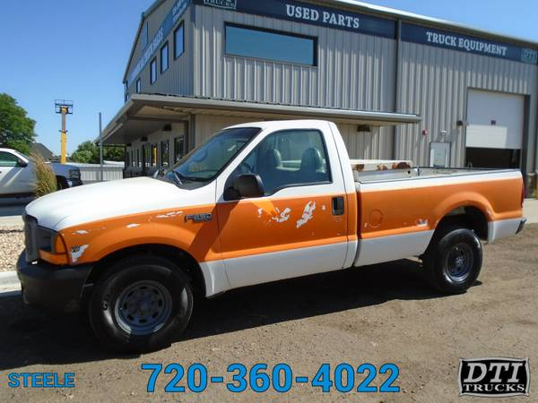 Photo 1999 Ford F250 Pick Up Truck, In Bed Tool Box, Ready To Work - $2950 (8080 Steele St. Denver, CO)