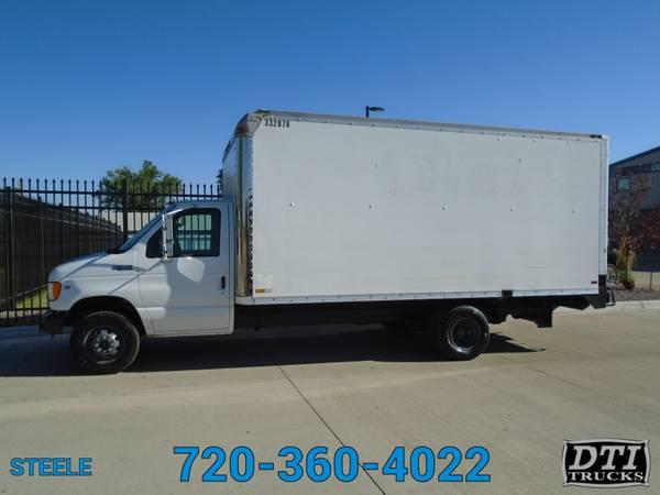Photo 2001 Ford E-450 1739 Box Truck WLift Gate 108k Miles - $11750 (8080 Steele St Denver)