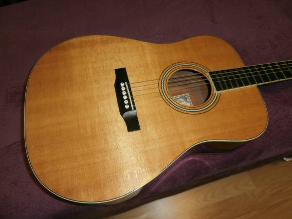 Photo 2001 Larrivee D-03E Custom gloss acoustic electric guitar - $925 (Lakewood)