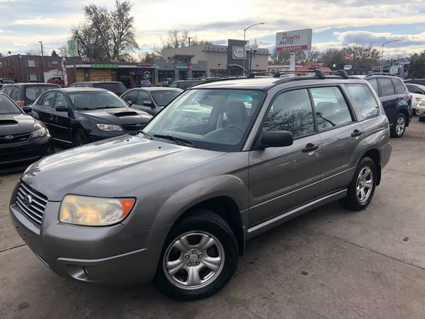 Photo 2006 Subaru Forester 2.5X 150K Miles - Primera Auto LLC Stock02088 - $5,195 (Wheat Ridge)