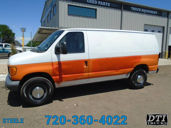 Photo 2007 Ford E-350 6.8L V10 Gas Engine Cargo Van 192k Miles - $5950 (Denver)