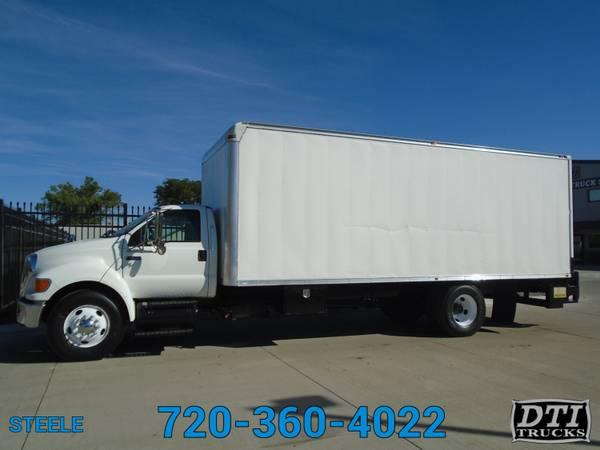 Photo 2008 Ford F750 2439 Box Truck, 6.7L Cummins, Auto - $26750 (8080 Steele St. Denver, CO)