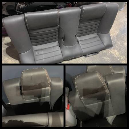 Photo 2010 - 2014 Ford Mustang Leather Rear Seats Complete - Black - $400 (Green Valley Ranch)