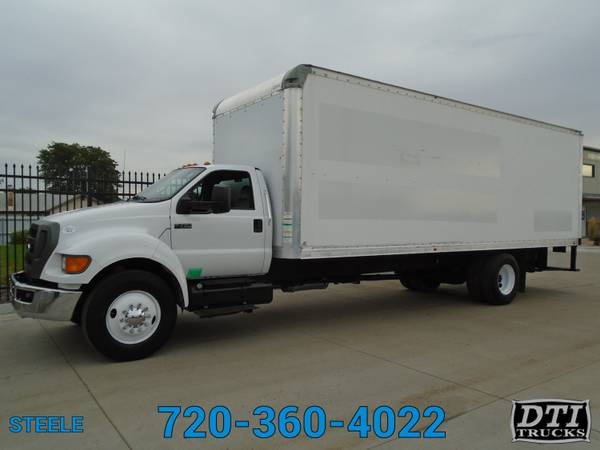 Photo 2012 Ford F750 2639 Box Truck With Walk Up R - $23750 (Denver)