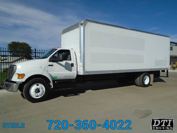 Photo 2012 Ford F750 2639 Box Truck With Walk Up R - $29750 (Denver)