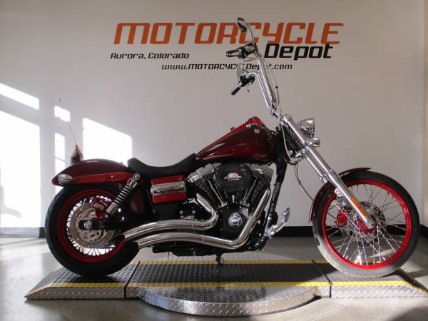 Photo 2015 Harley Davidson Dyna Wide Glide - $12,399 (MOTORCYCLE DEPOT)