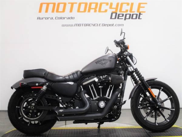 Photo 2017 Harley Davidson Sportster Iron 883REDUCED - $7,199 (MOTORCYCLE DEPOT)